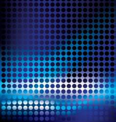 black dots vector image vector image