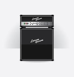 Guitar amplifier vector