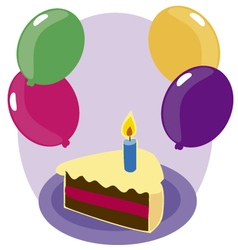 happy B 2 vector image vector image