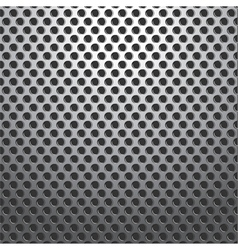 Metal holes plate background seamless vector