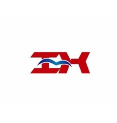 iX company logo vector image