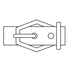 Belt icon outline style vector