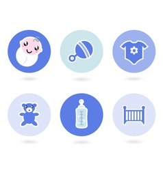icons and objects vector image vector image