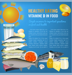 vitamin d image vector image vector image
