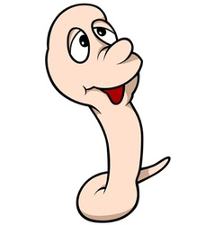 Little worm vector