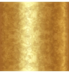abstract gold metallic background vector image
