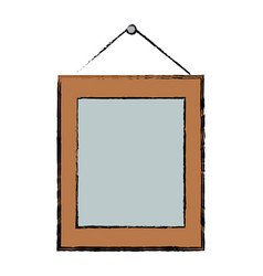 frame photo picture hanging ornament vector image