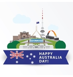 Happy Australia day 26 january Greatest vector image vector image