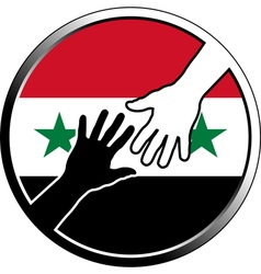 Help in syria vector