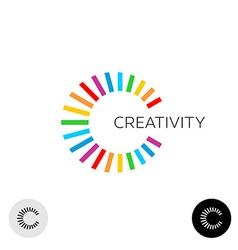 Letter C logo vector image vector image