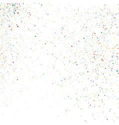 Confetti on a white vector