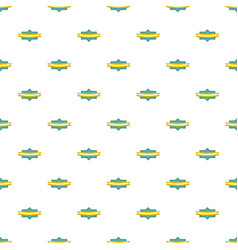 Badge ribbon pattern seamless vector