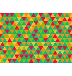 Retro triangle pattern sweet lolly vector