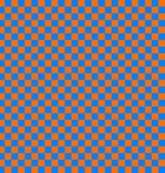 Cloth seamless pattern orange and blue vector