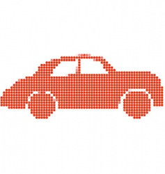 dot style vector image vector image