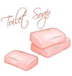 hand drawn of isolated soap vector image