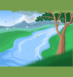 Riverscapes vector