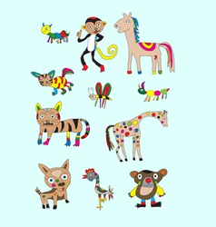 Set animal naive vector