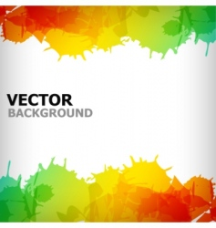 Abstract blot colorful background vector