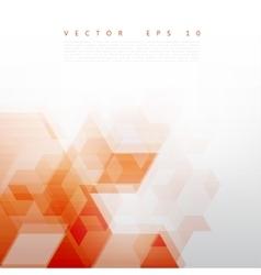 Abstract Design Hexagonal Background vector image