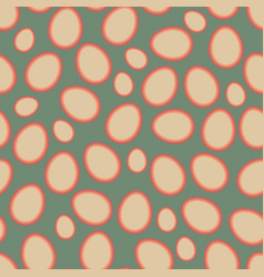 Easter pattern old vector