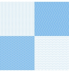 Pattern dot sea vector