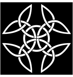 Celtic quaternary knot vector