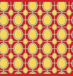 Easter pattern retro vector