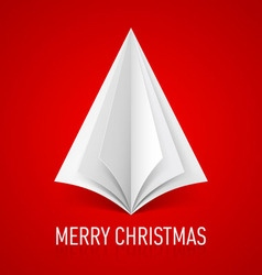 Merry christmas corner paper 03 vector