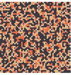 Pixel art elements of design vector