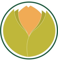 Emblem indicating ecological product vector