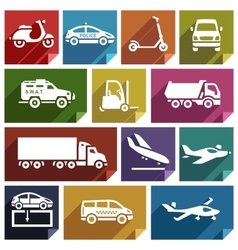 Transport flat icon-05 vector