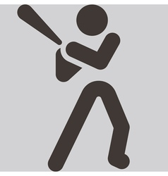 Baseballl icon vector