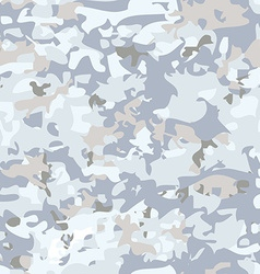 White camouflage pattern vector