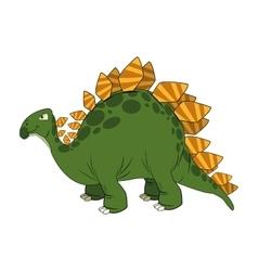 cute cartoon dinosaur comic vector image