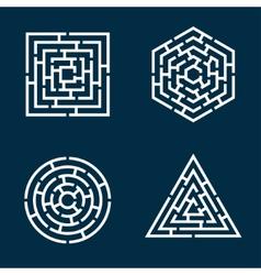 Labyrinths vector