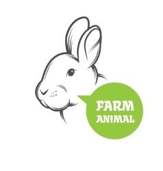 Rabbit Farm vector image
