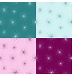 Seamless pattern with small fluff vector