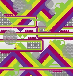 Abstract geometrical design background vector image