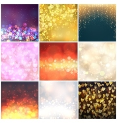 Abstract background blur vector