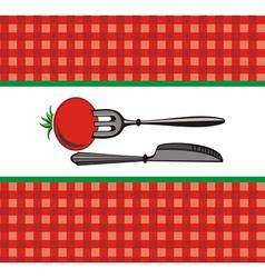Restaurant or cafe menu design vector image
