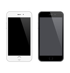 Realistic Mobile Phone Mockup like Iphone vector image