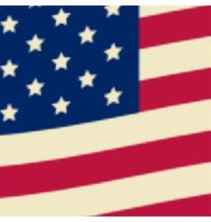 American flag usa flag vector