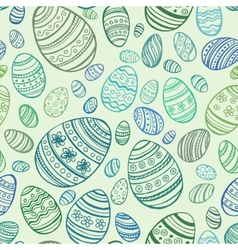 Easter Egg seamless pattern vector image vector image