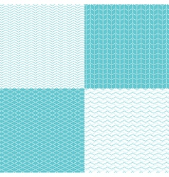 pattern dot waves vector image vector image