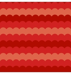 Red waves background seamless  wave pattern vector