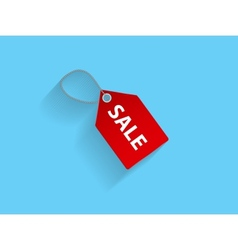 Sale Red Icon vector image