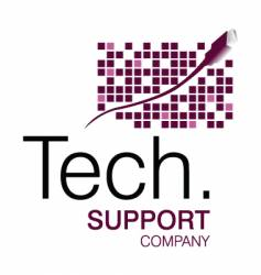 Tech support logo vector