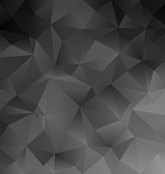 Black abstract triangle pattern background vector