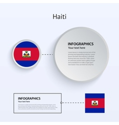 Haiti Country Set of Banners vector image vector image